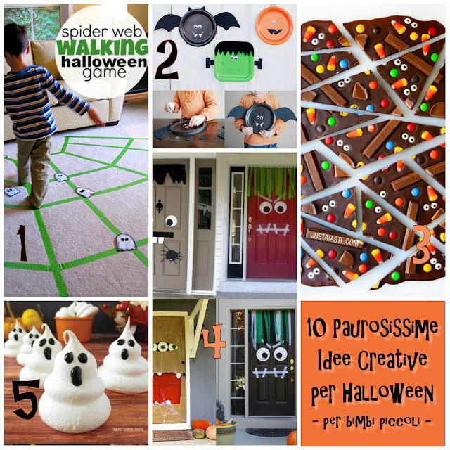 10 Paurosissime Idee Creative per Halloween - per bimbi piccoli ...