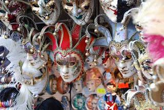 Festival Masks Venice Italy