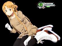 Anime Render:Asuna Yuuki
