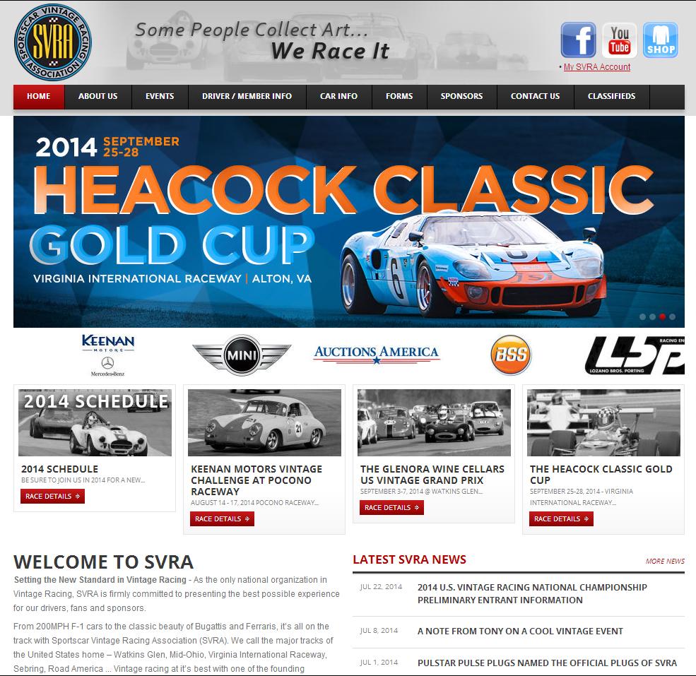 Nothing but Rubber: Sportscar Vintage Racing Association (SVRA)
