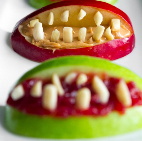 apple teeth halloween