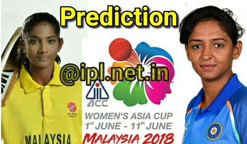 India Women Vs Malaysia Women Dream 11 or Fantasy League 11 Prediction And Tips, Womens Asia Cup T20, 2018 (INDW vs MLYW, 1st Match, Womens Asia Cup T20, 2018 Dream11)