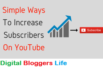 Simple Tips to Increase YouTube Subscribers