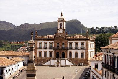 turismo em Ouro Preto-MG no museu da Inconfidência