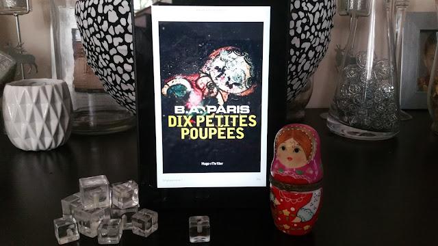 10 petites poupées BA Paris avis chronique book addict