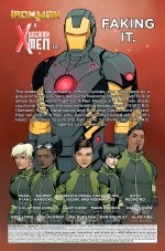 Uncanny X-Men helped by Ironman to save cyclops