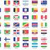 ايقونات فلات اعلام كل دول العالم