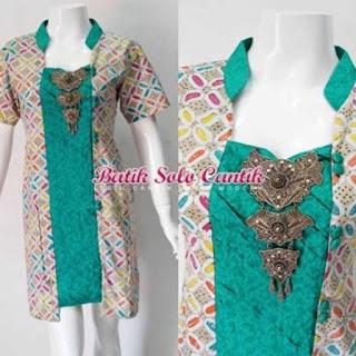 model batik embos terbaru