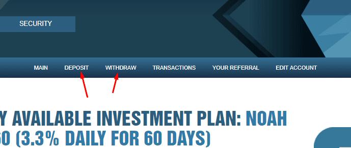 Регистрация в Noah Investments 3