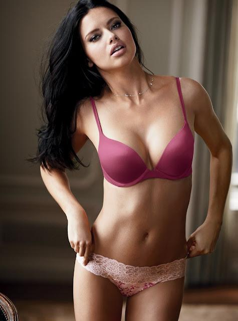 Glamour Girls Blog Adriana Lima - Photoshoot For Victoria