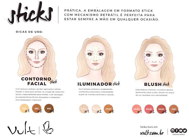 como usar sticks vult maquiagem em bastão