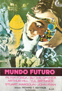 mundo futuro, futureworld, michael crichton, peter fonda, yul brynner, john ryan, richard heffron