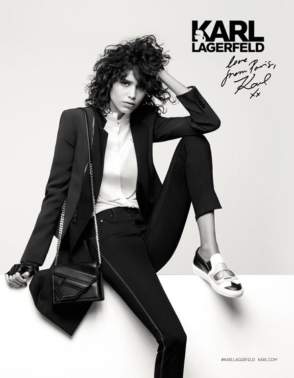 Karl Lagerfeld Fall/Winter 2016 Campaign