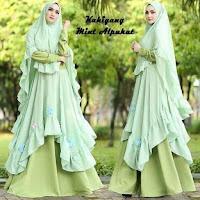 Baju Busana Muslim Gamis Kahiyang Syari