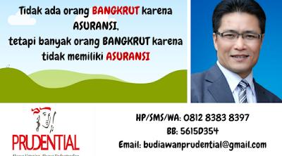 agen asuransi prudential berlisensi AAJI untuk wilayah kota Medan dan sekitarnya