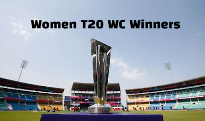 icc, women's cricket world cup, twenty 20, t20, past winners, champions, by year.