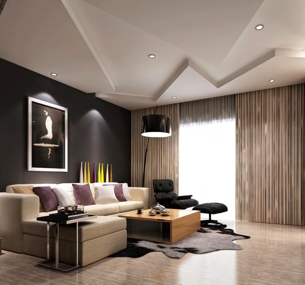 New Modern Living Room Decoration Design 4u HD Wallpaper ...