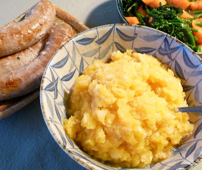 Mashed Rutabaga and Celeriac