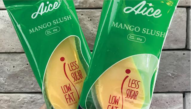 Suka Es Krim Tapi Takut Gemuk? Pilih Mango Slush Low Fat dari AICE