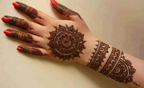 Mehndi For Children : Simple mehndi designs step by beauty health fashion