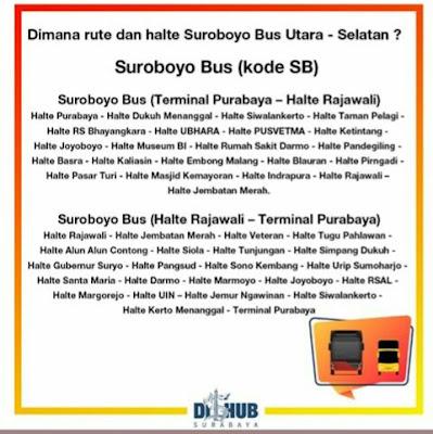 rute lengkap suroboyo bus bis surabaya