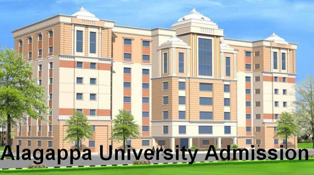 Alagappa University Admission