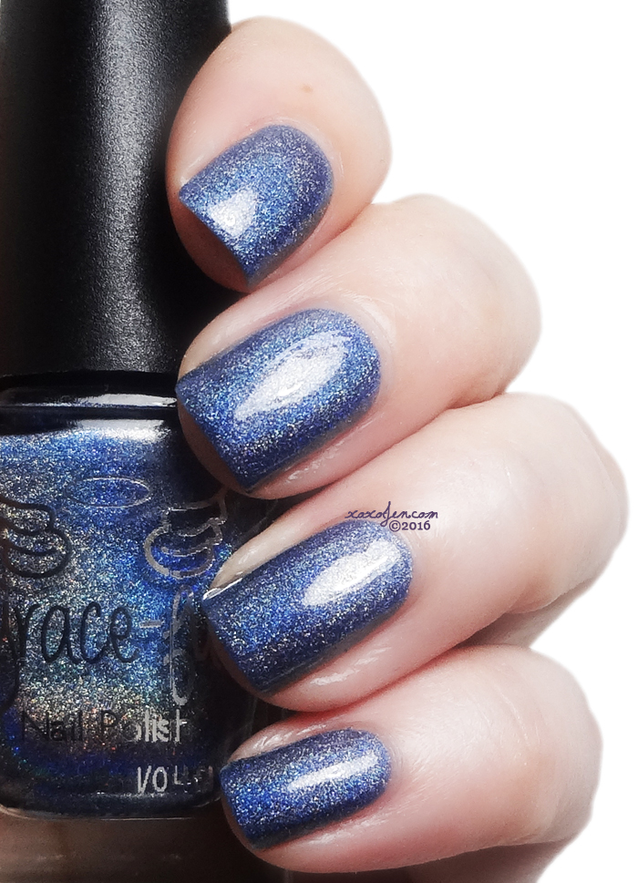 xoxoJen's swatch of Grace-full Steel Blue Blizzard