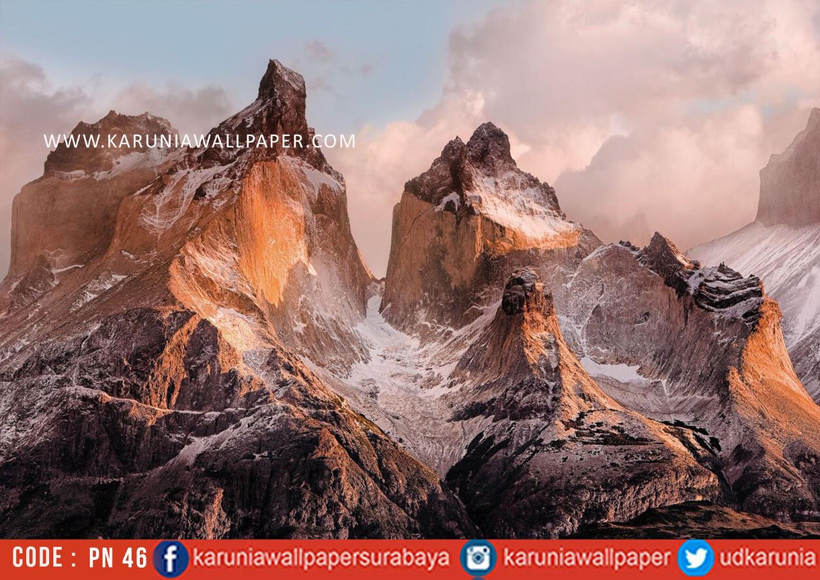 jual photowall gunung