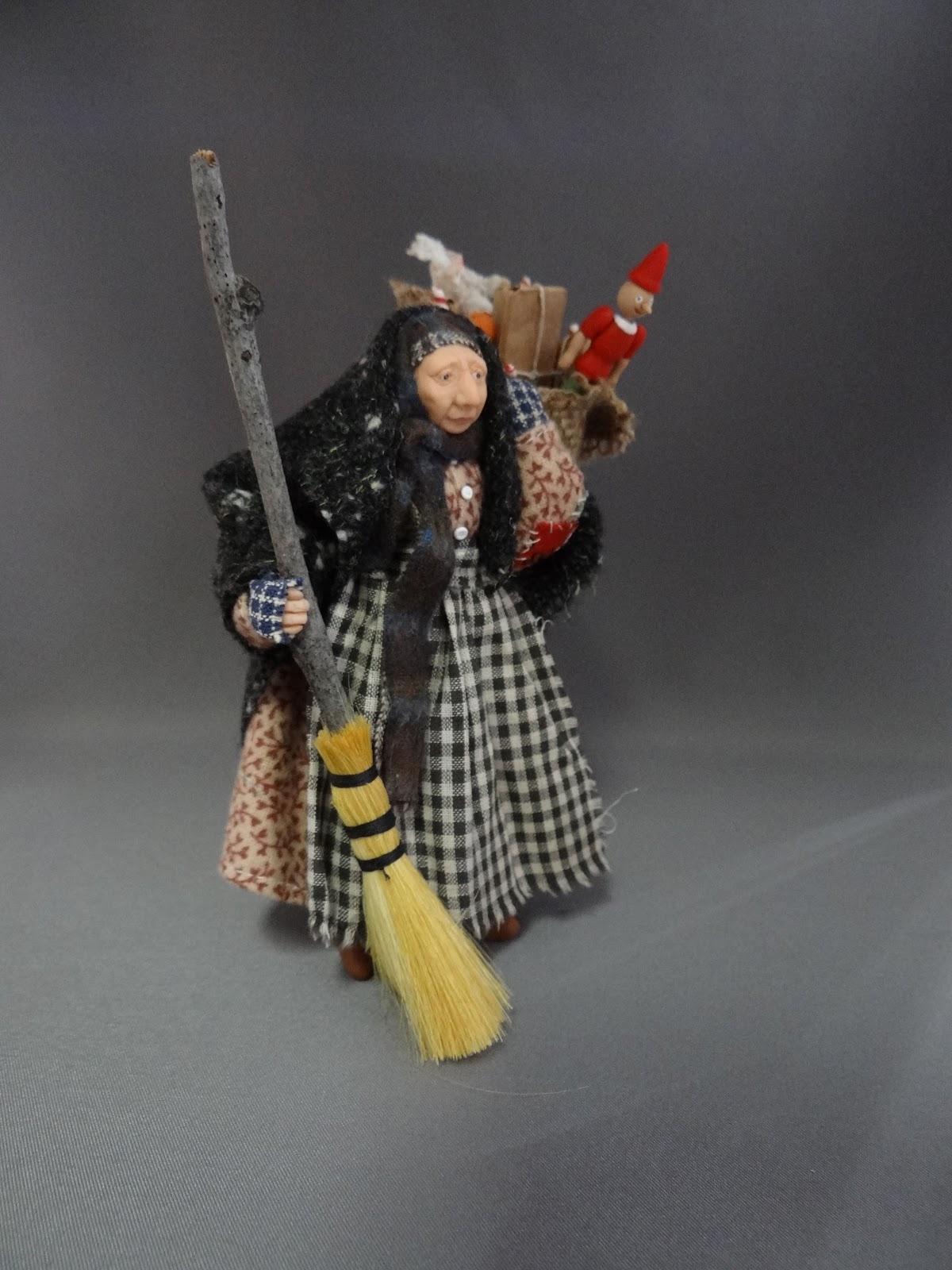 From The Studio Of Pat Benedict My La Befana Miniature