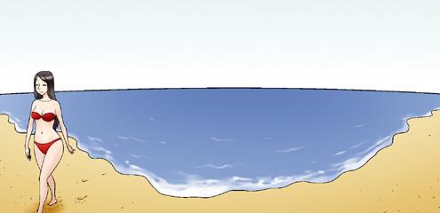 Kim Chi & Củ Cải (bộ mới) phần 236: Bãi tắm sung sướng