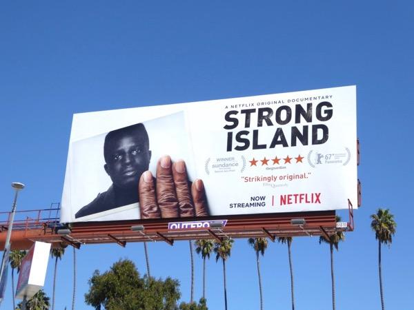 Strong Island Netflix FYC billboard