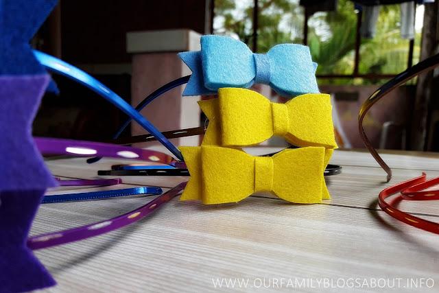 craft, do it yourself, felt cloth, felt cloth bows, felt cloth headbands, Felt with love by Mom Maye, Headbands,