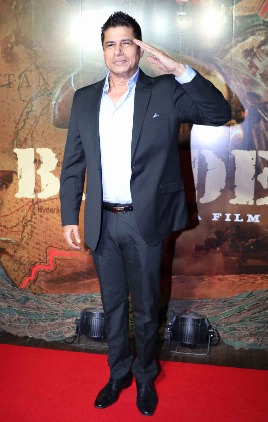 Sudesh Berry and Kulbhushan Kharbanda at Border Movie 20 Year Completion Party