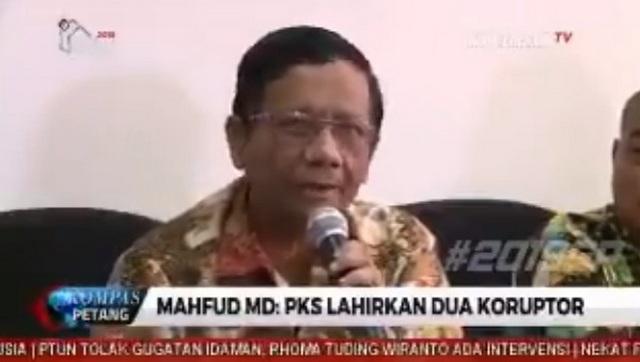Advokat: Tuduhan Mahfud MD 'PKS Lahirkan Koruptor' Bisa Menjadi Ujaran Kebencian