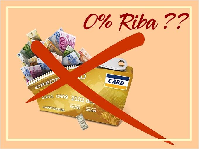 Cicilan 0% Kartu Kredit, Riba??