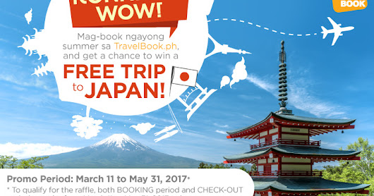 Konnichi-WOW: Win a Free Trip to Japan with TravelBook.ph!