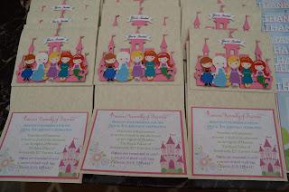 princess invitations, princess party, cinderella, snow white, rapunzel, princess tiana,