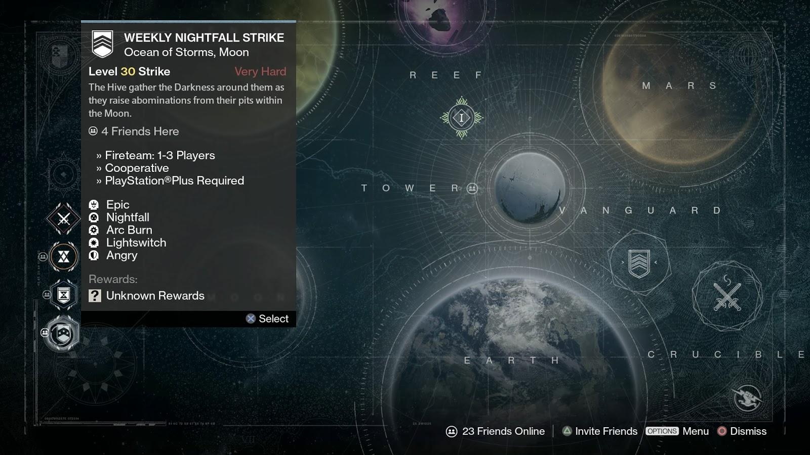 Destiny Weekly Reset Nightfall / Heroic - 21 january (1/21