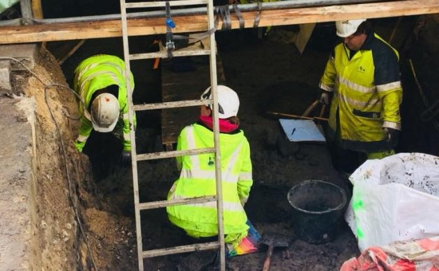 Medieval burials found under Copenhagen City Hall Square