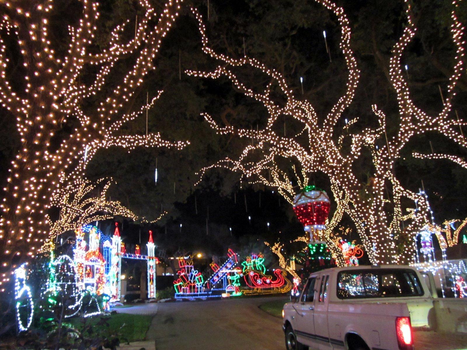 Christmas Light Displays Jupiter Fl