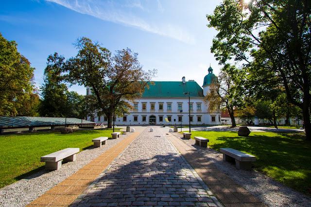 Castello di Ujazdowski-Parco Lazienki-Varsavia