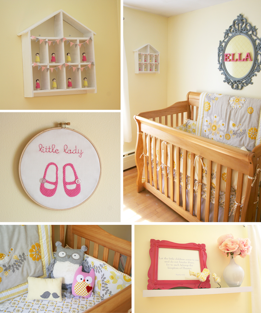 45 Baby Girl Nursery Room Ideas (Photos) |Green And Yellow Baby Room