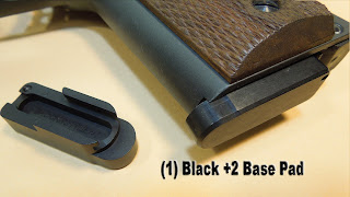 shockbottle basepad GSG 1911 22LR GSG-1911 magazine high capacity increase bumper extention