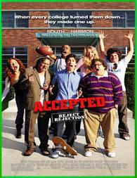Accepted (Admitido) (2006) | DVDRip Latino HD Mega