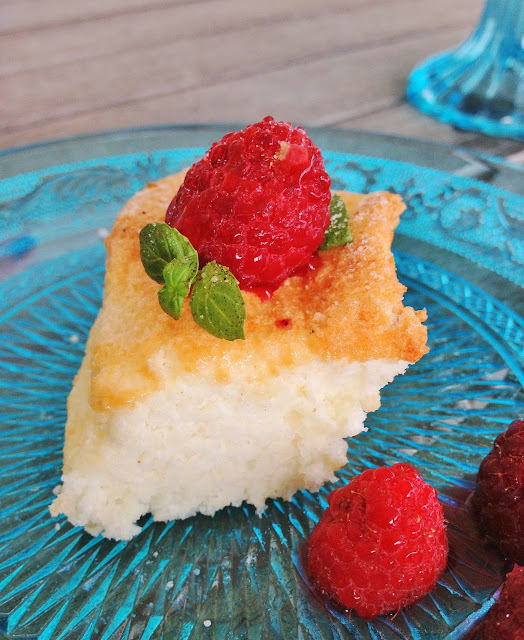 sweet kwisine, gâteau, cake, angel food, cholesterol free, sans beurre