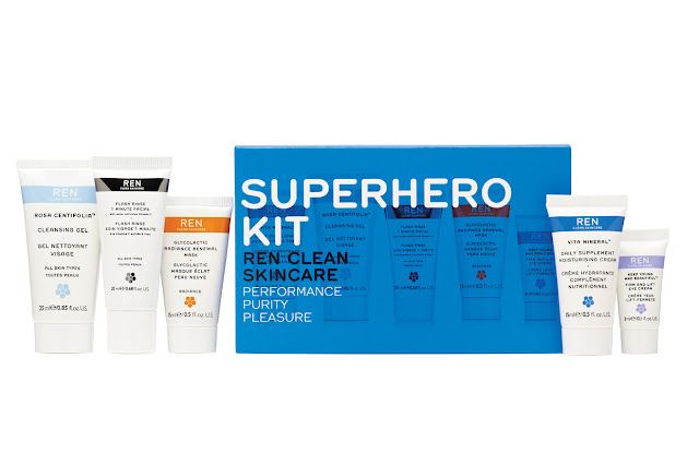 REN Skincare Superhero Kit