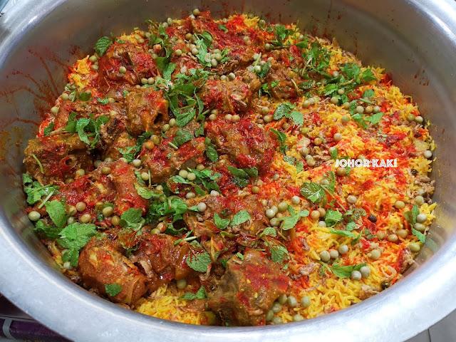 Nasi Briyani @ Barakath Restaurant Dalhousie Lane