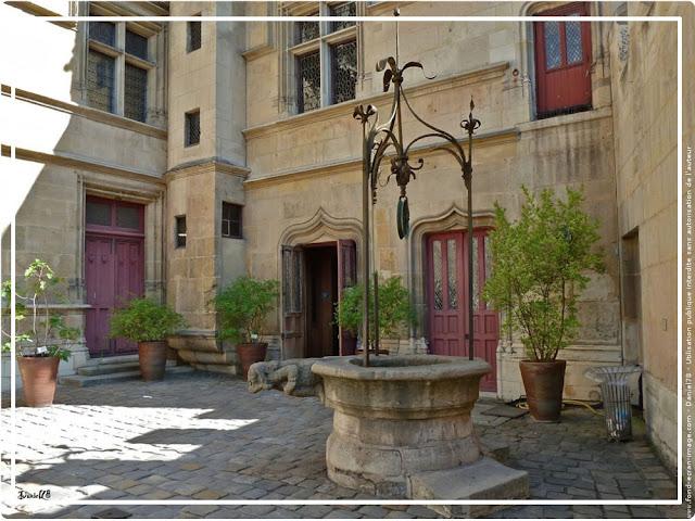 La cour du Musée Cluny