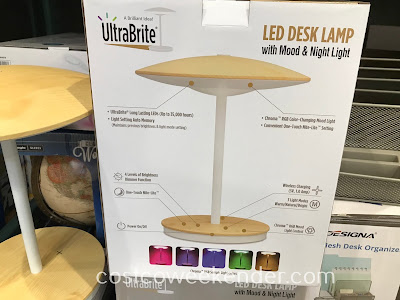 UltraBrite Dome LED Desk Lamp: great for any desk or nightstand
