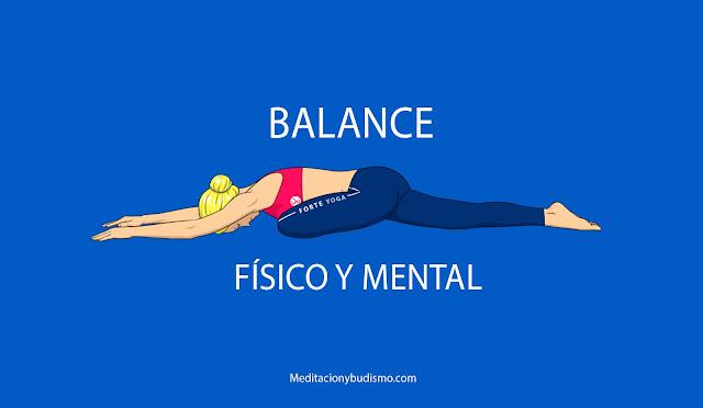 2 Posturas de yoga para el balance físico y mental